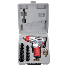 17PC 1/2'' Professional Air Impact Wrench Kit (PAT-104K)