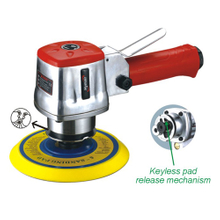 6'' Dual Action Air Sander with Keyless Pad Release Mechanism(PAT-301)