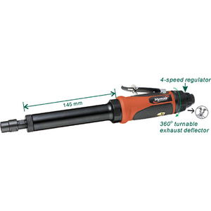 1/4'' (6mm) Extended Air Die Grinder (6'' Extension)(AT-7033LBN)