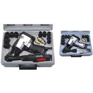 17 PC 1/2'' Air Impact&Ratchet Wrench Kit (AT-5000SG|AT-5000)