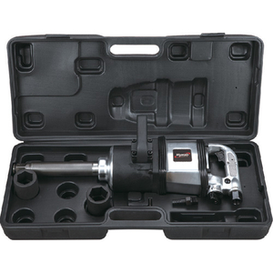 6 PC 1'' H. D. Extended Anvil Air Impact Wrench Kit (Pinless Hammer) (AT-9981K)
