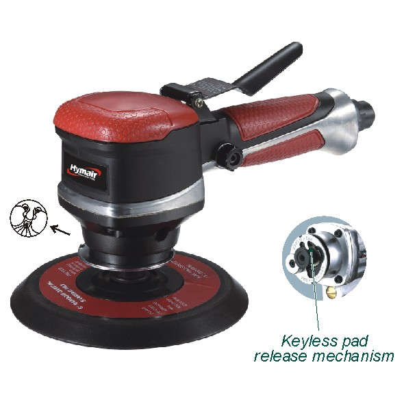 6'' Dual Action Keyless Pad Air Sander(NST-380F)