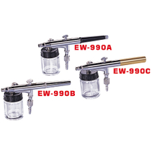 Hymair Dual Action Air Brush (Side Bottom Feed) (EW-990A/B/C)